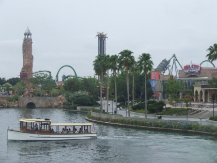In de verte Islands of Adventure, een van de twee parken van Universal Studio's